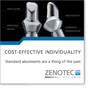 Standard abutments are a thing of the past