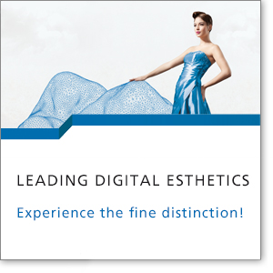 Leading digital esthetics. Experience the fine distinction!